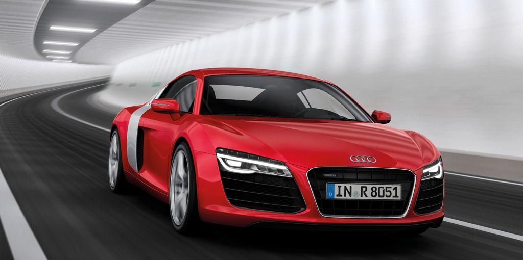Audi R8/Fahraufnahme