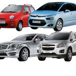 citroen, mercedes benz, cherry, chevrolet