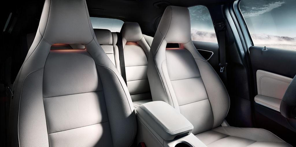 Mercedes foto asiento