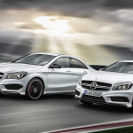 Mercedes Benz inicia las ventas del A 45 AMG y CLA 45 AMG