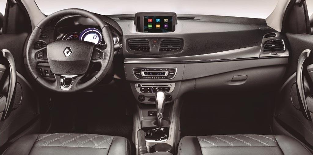 Nuevo Renault Fluence - Interior CVT