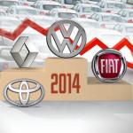 Cada de ventas 2014