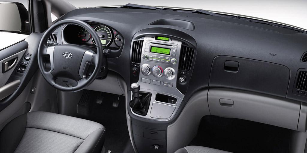 Hyundai H1  interior