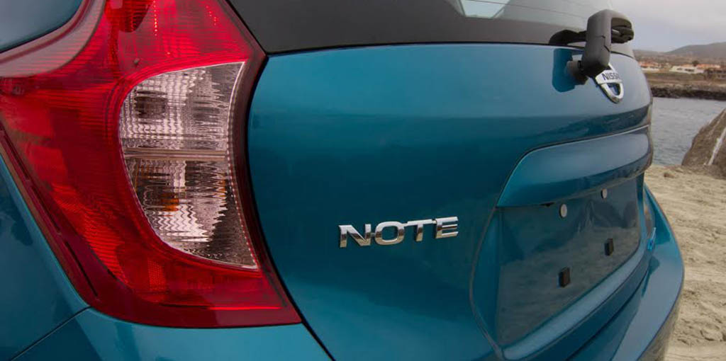 Nissan Note 2014.