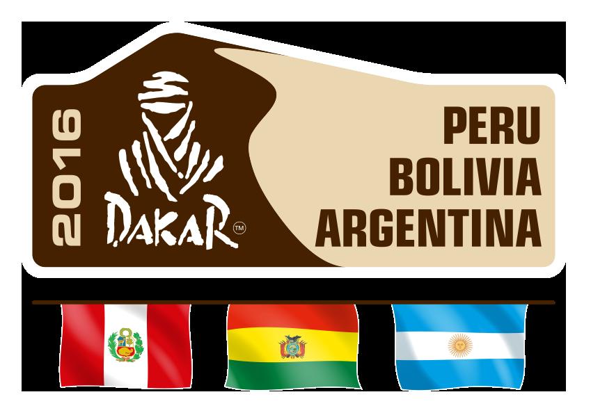Logo Dakar 2016 Peru Bolivia Argentina