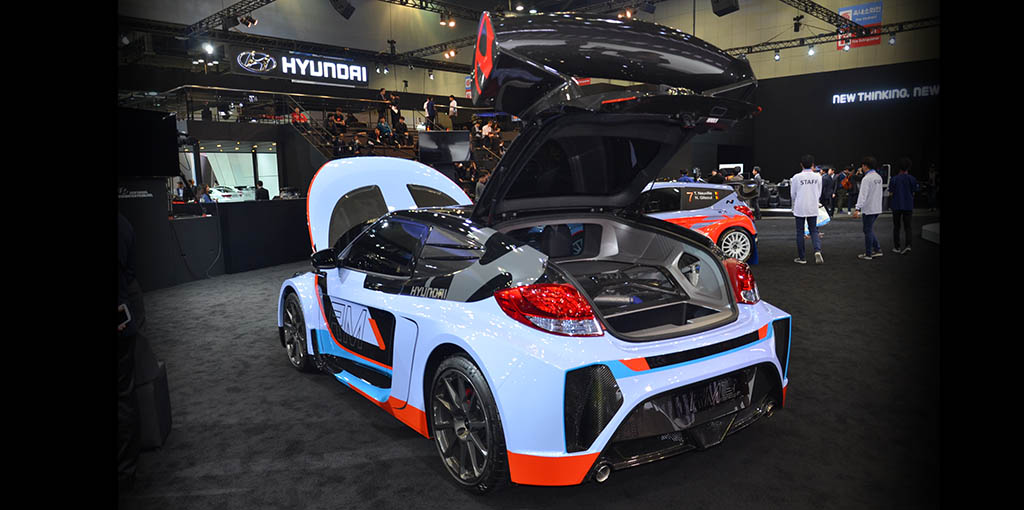 Hyundai RM15 con motor central