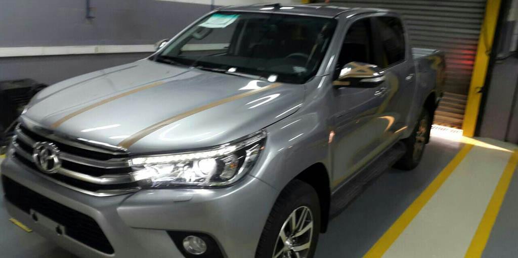 Nueva Toyota Hilux 2016