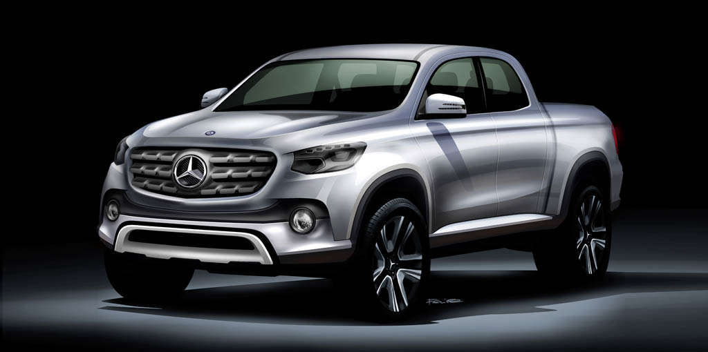Pick-up de Mercedes-Benz
