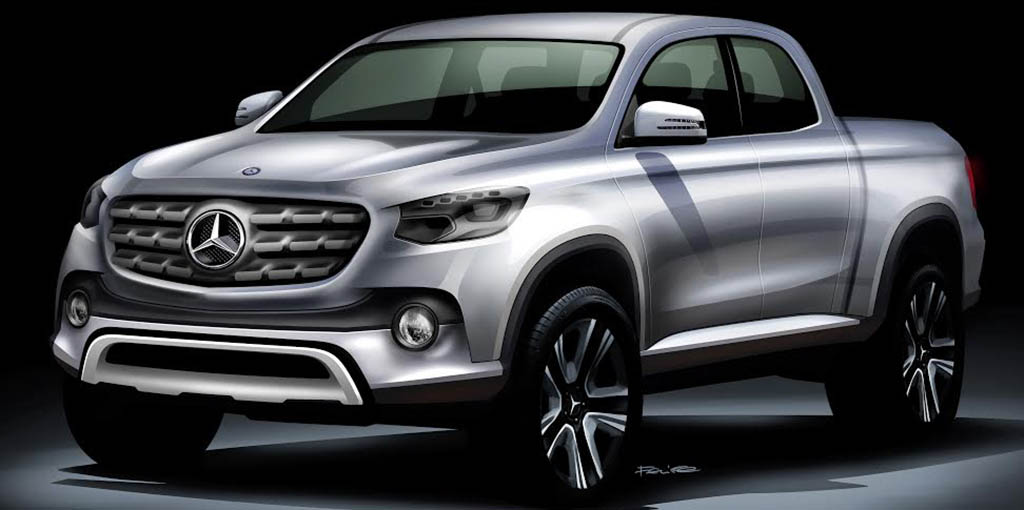 Mercedes pick up