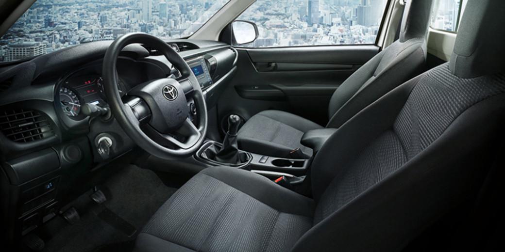 Toyota nueva interior