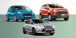 Ford Ecosports focus fiesta