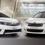 Toyota Corolla Xei Pack y Citroen C4 Lounge