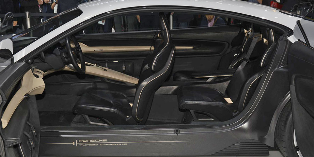 Porsche Mision 3 Frankfurt 2015