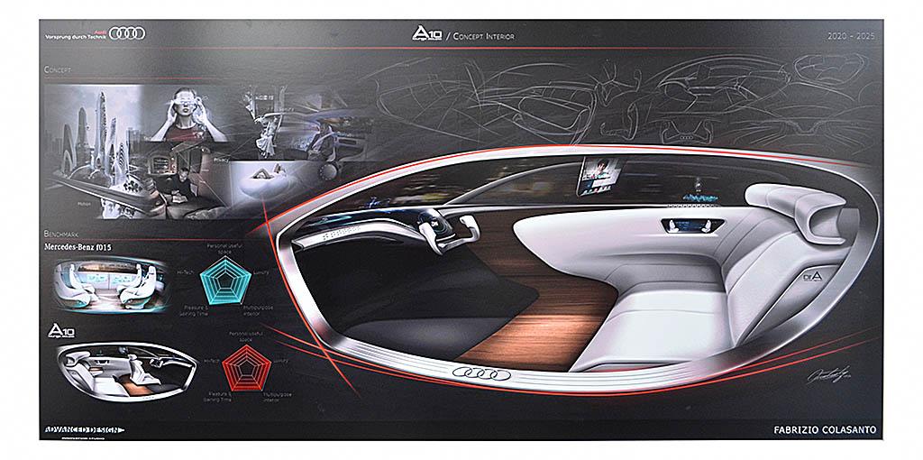 Interior modular de un futuro Audi A10