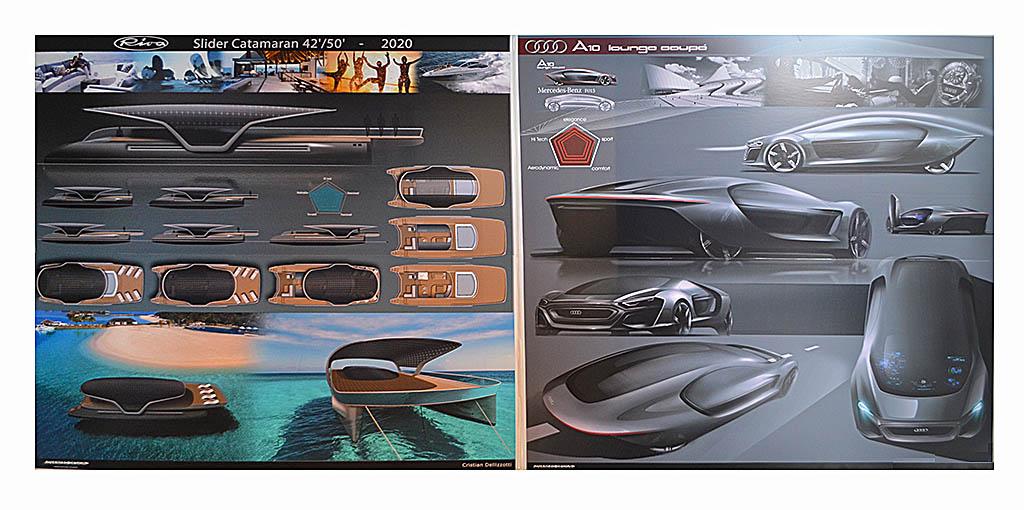 Lounge Cupe y el Slyder Catamaran, dos proyectos que se adaptan segun el uso