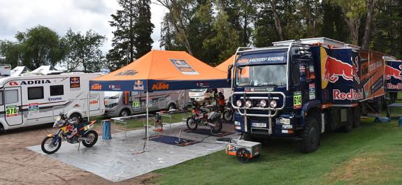 Dakar 3 de enero villa carlos paz