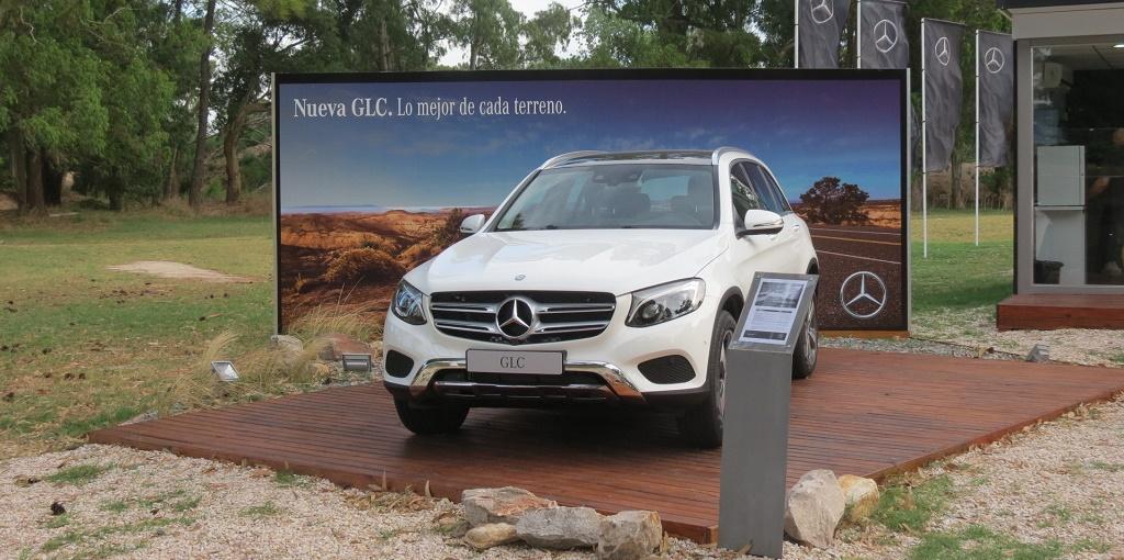 Nuevo Mercedes-Benz GLC en Pinamar 2016. Foto 3