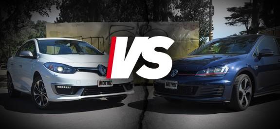 Fluence GT2 VS Golf GTI 13