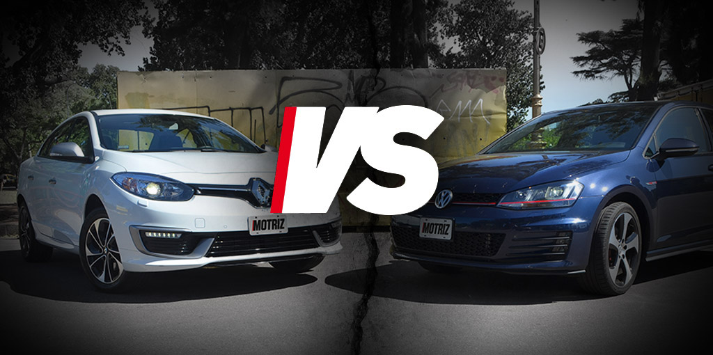 1 Fluence GT2 VS Golf GTI main