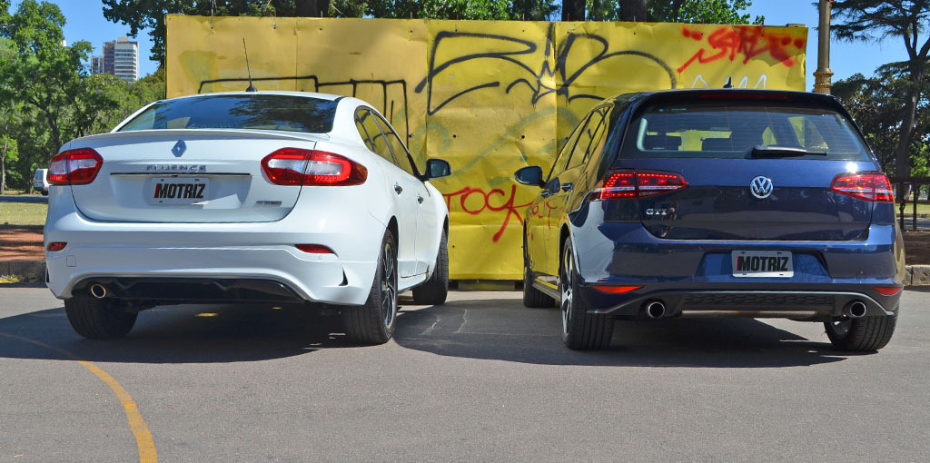 Fluence GT2 VS Golf GTI 11