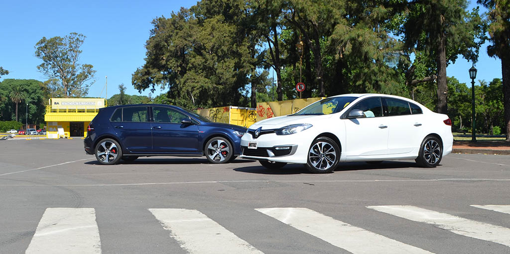 Fluence GT2 VS Golf GTI 20