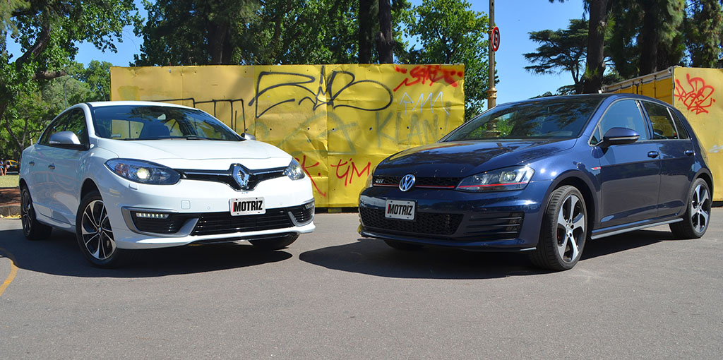 Fluence GT2 VS Golf GTI 6