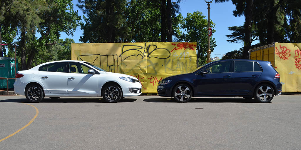 Fluence GT2 VS Golf GTI 7