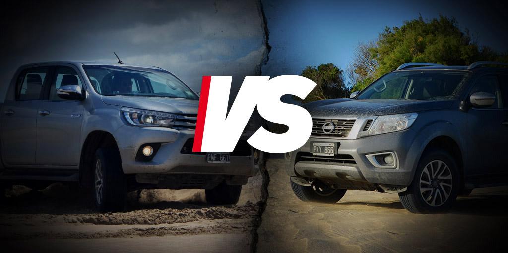 Toyota Hilux Vs Nissan Frontier » Motriz