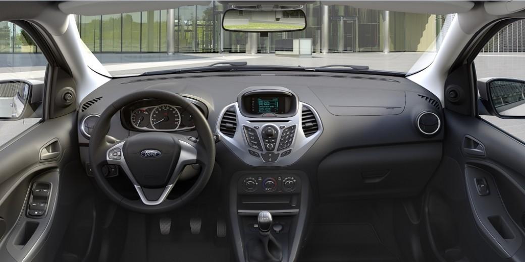 Nuevo Ford Ka interior