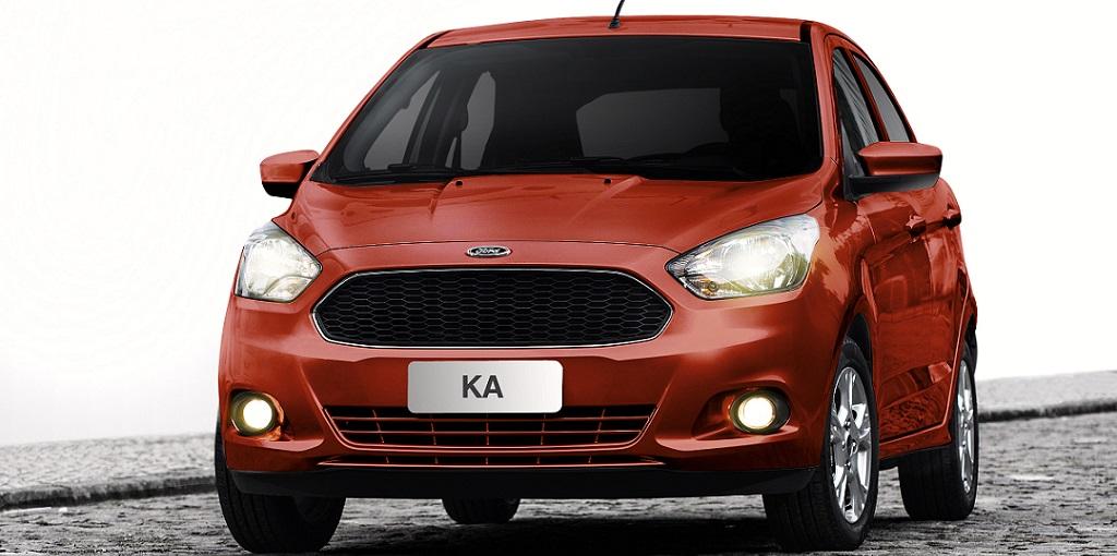 The 2015 Ka hatch for Brazilian markets.