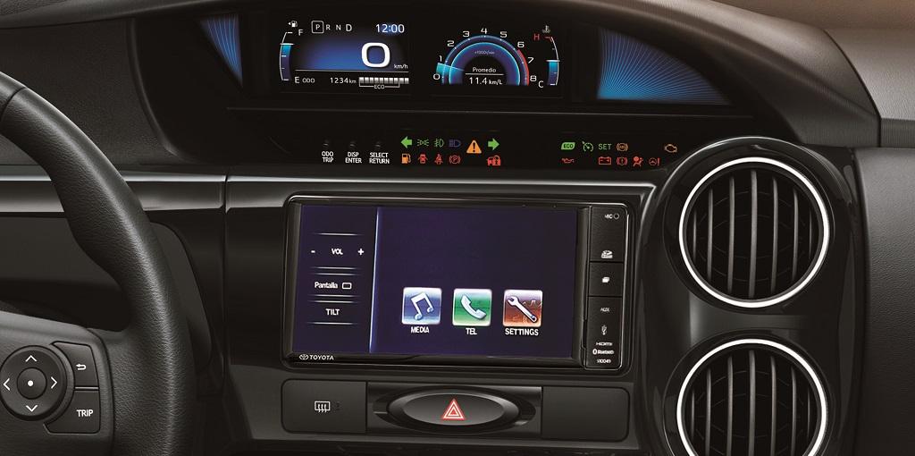 Toyota Etios tablero 2016