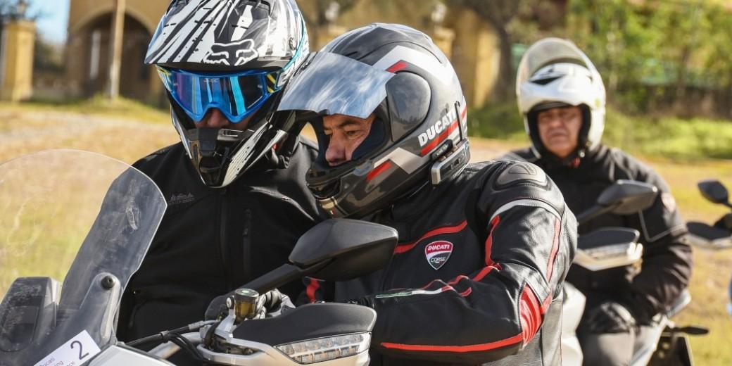 Ducati 1200 Multiestrada preparativo