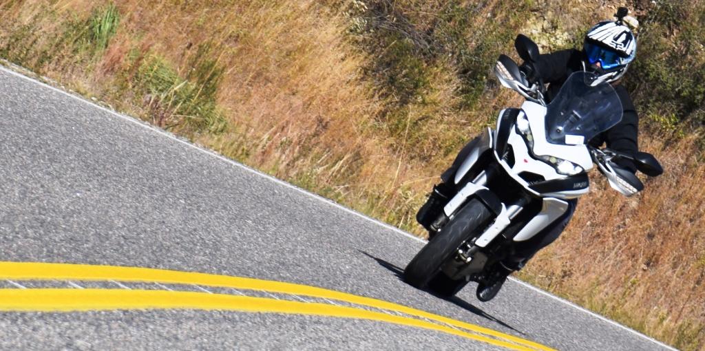 Ducati Multiestrada 1200 prueba