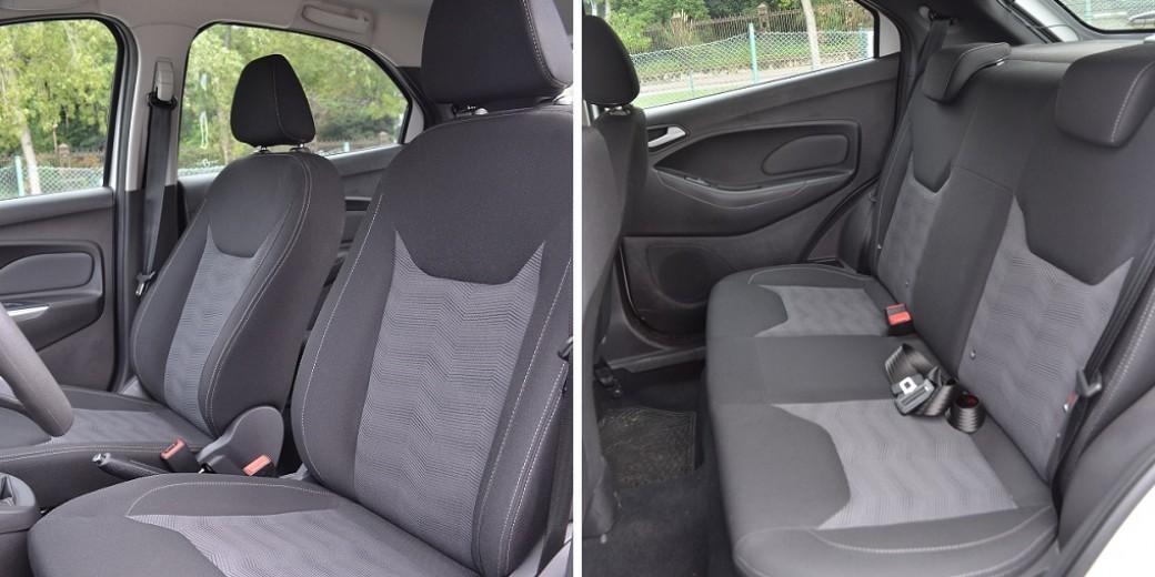 Ford Ka asientos