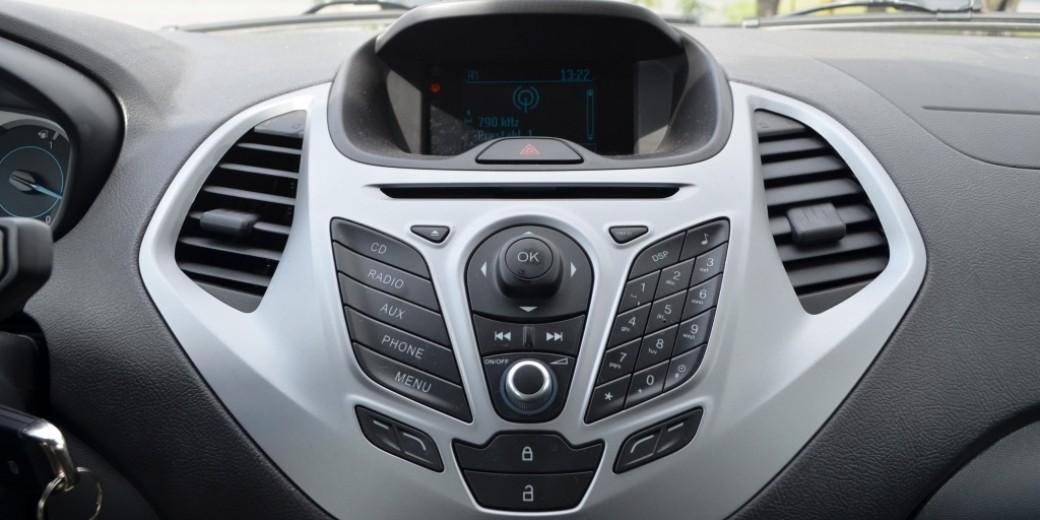 Ford Ka interior synk