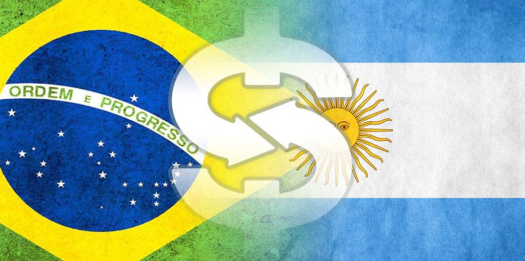 comercio brasil argentina bandera