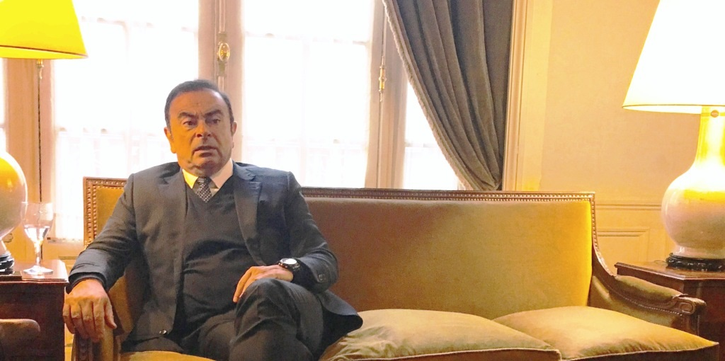 Ceo Renault Nissan Carlos Ghosn