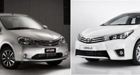 Etios vs Corolla