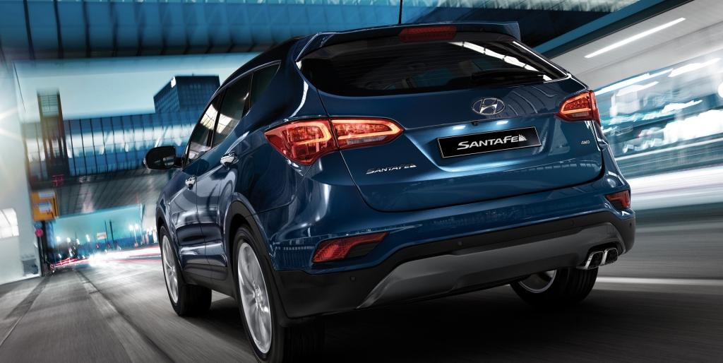 Hyundai santa fe atras