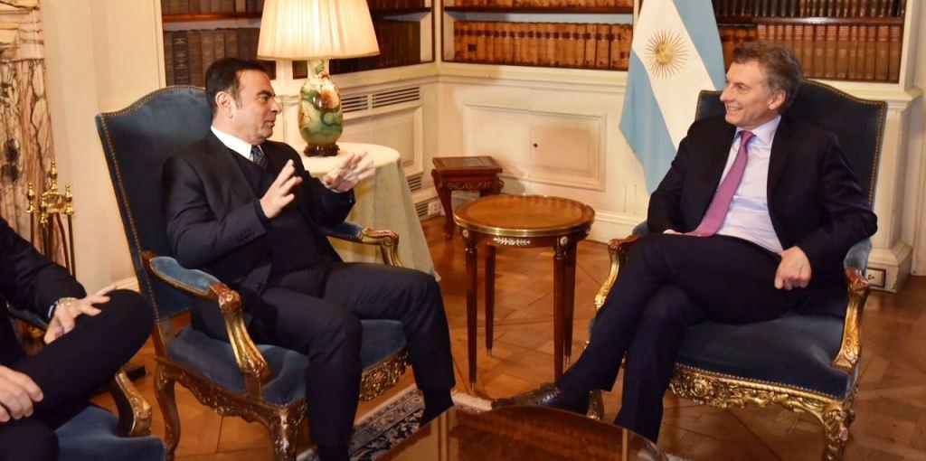 Reunion Macri-Ghosn - Alianza Renault Nissan (4)