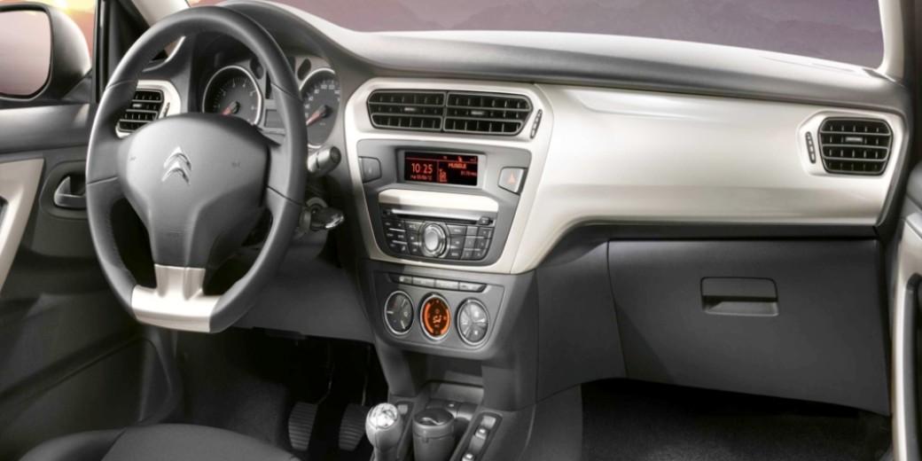 Citroen C-Elysee interior