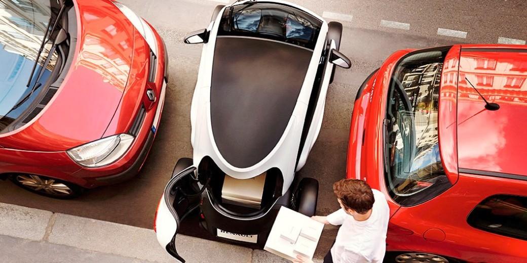 Renault Twizzy estacionamiento
