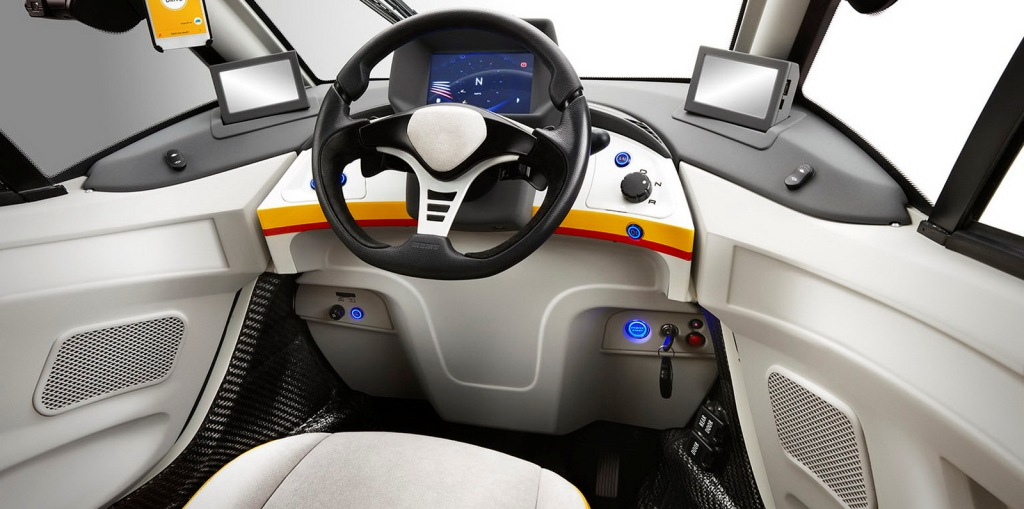 Shell Concept Car_Dashboard*Do use for Advertising purposes, STRICTLY BTL useage ONLY, unless agreed with client & photographer.