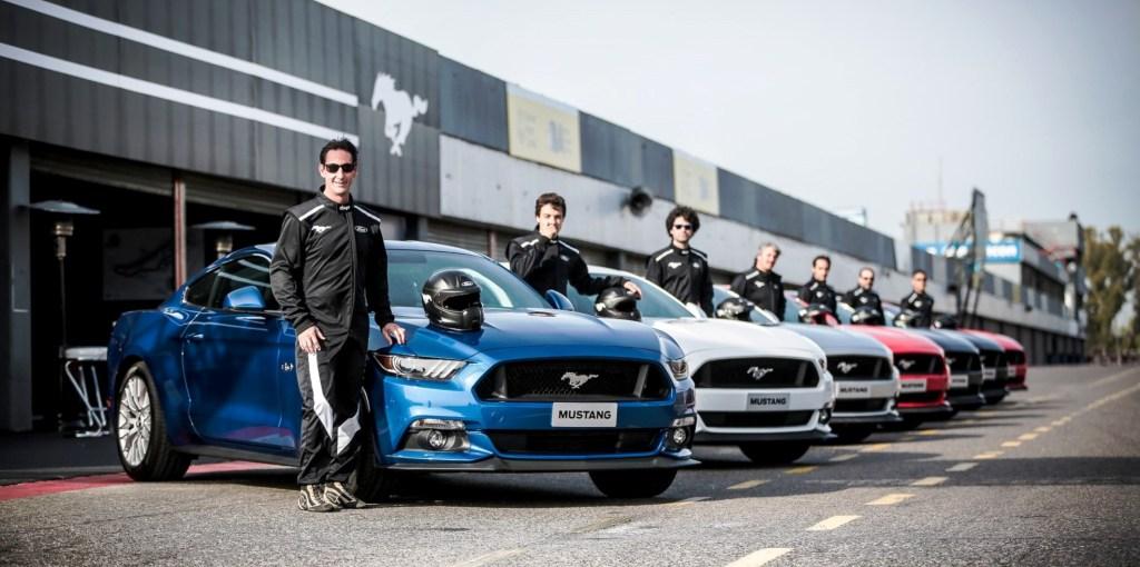 Mustang pilotos