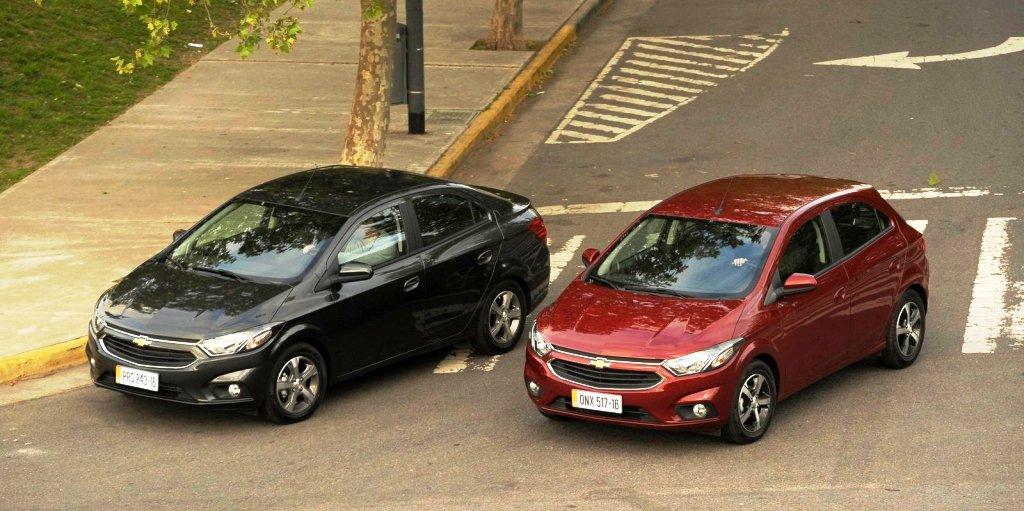 Chevrolet Onix y Prisma 2