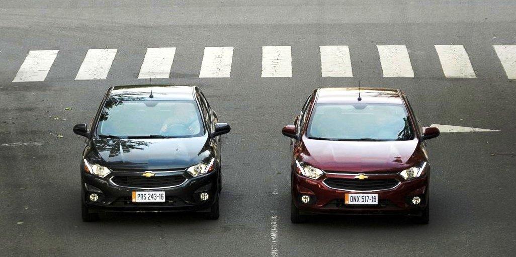 Chevrolet Onix y Prisma 3