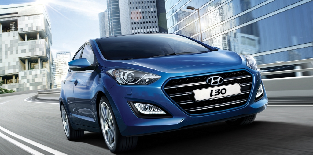 Hyundai i30 MY2017 frente