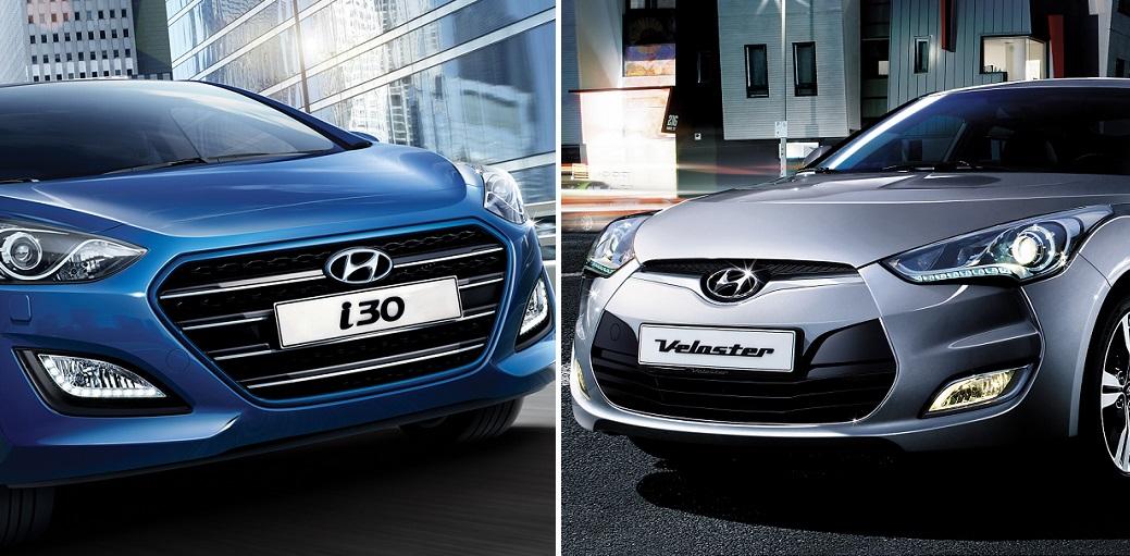 Hyundai i30 y Veloster