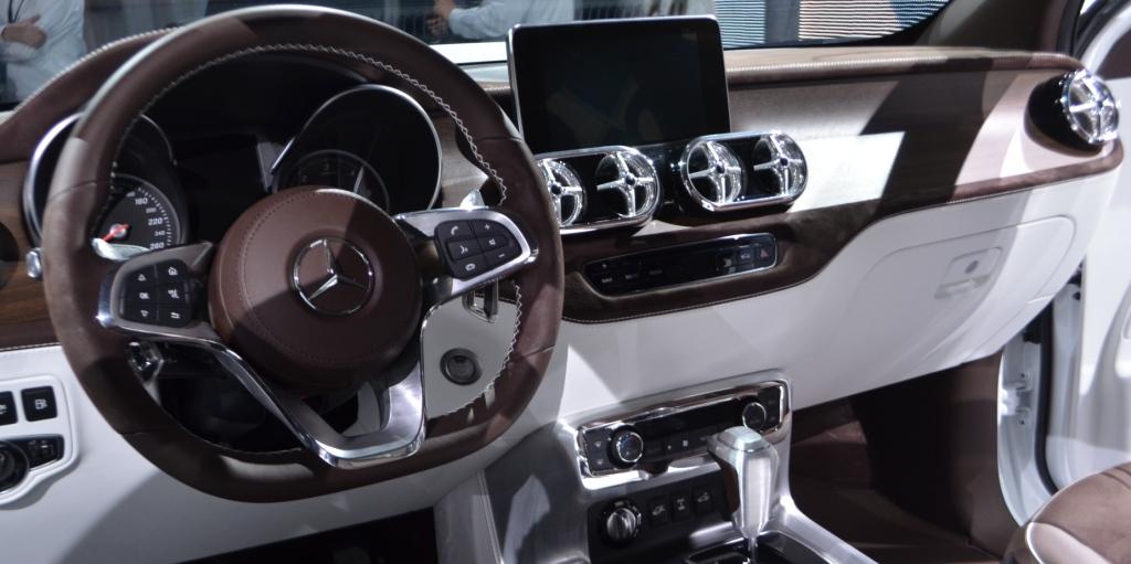 El interior de la Clase X une confort con tecnología