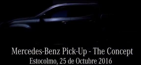 Mercedes Benz pick up